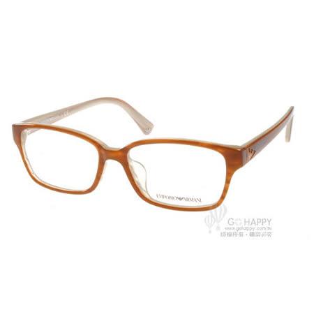 EMPORIO ARMANI光學眼鏡 (質感摩卡棕色) #EA3012D 5054