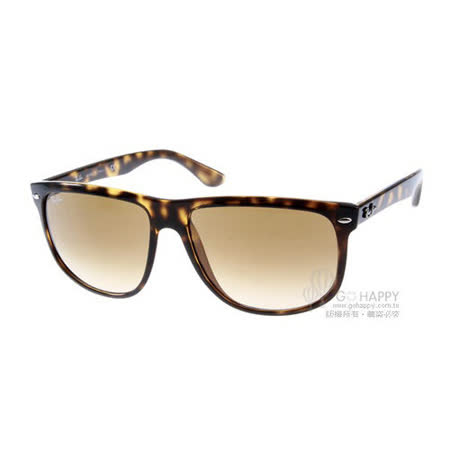 RayBan太陽眼鏡 經典時尚大框 (琥珀色) # RB4147 71051