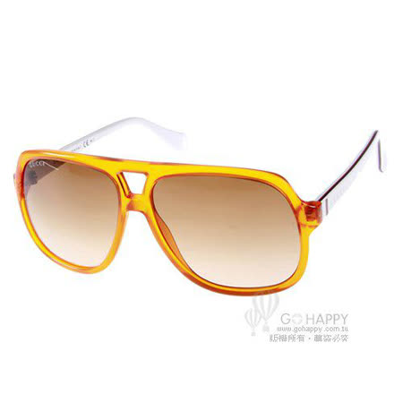 GUCCI太陽眼鏡 (橘黃色) #GG5005CS D476Y 兒童‧小臉限定