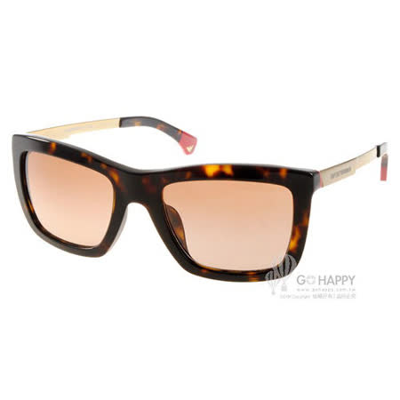EMPORIO ARMANI 太陽眼鏡 EA4017F 502613 (琥珀金) 時尚大方框