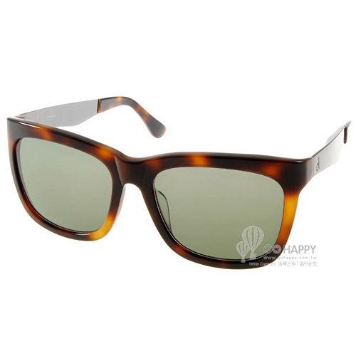Calvin Klein 太陽眼鏡 簡約大框 ^(琥珀^) ^# CK4247S 004