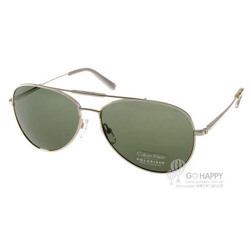 Calvin Klein 太陽眼鏡 時尚飛官款 (銀) # CK7477SP 014 偏光