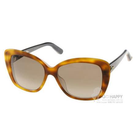 DIOR太陽眼鏡 時尚大框 (琥珀) # PROMESSE2 3IEJ6