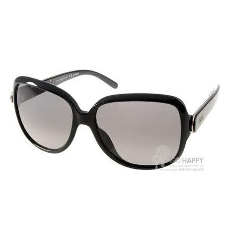 CHLOE太陽眼鏡 法式百搭款(黑)# CL655S 001