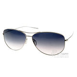 OLIVER PEOPLES太陽眼鏡 好萊塢星鏡(銀-藍)# STRUMMER-F 5160
