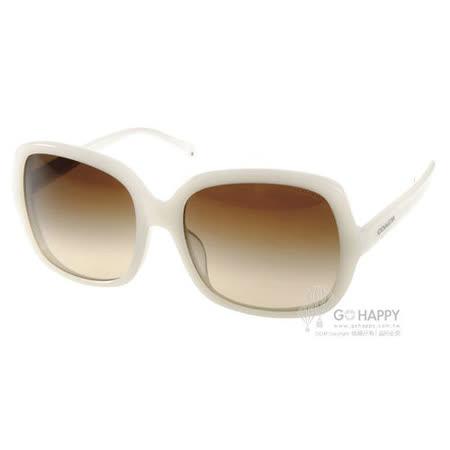 COACH太陽眼鏡 時尚百搭款(玉白)# COS8091F 504613