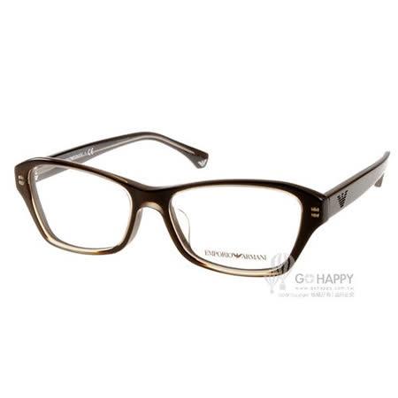 EMPORIO ARMANI光學眼鏡 (咖啡) # EA3032F 5222