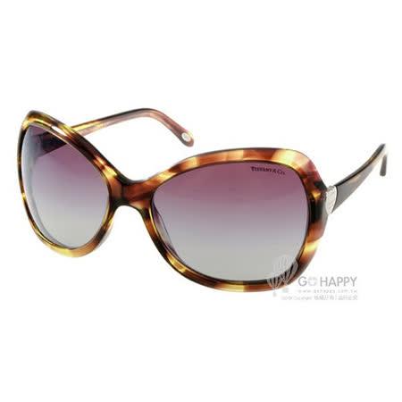 Tiffany&CO.太陽眼鏡 優雅愛心女款 (紅棕) #TF4040 80814I