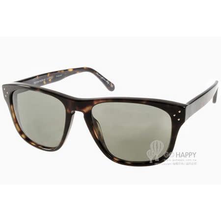 Oliver Peoples太陽眼鏡 懷舊經典款(琥珀) #DBS 10099A