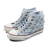 (W系列)CONVERSE Chuck Taylor All Star Lux 帆布鞋 淺藍-547197C