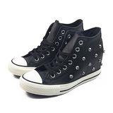 (W系列)CONVERSE Chuck Taylor All Star Lux 帆布鞋 黑-547897C