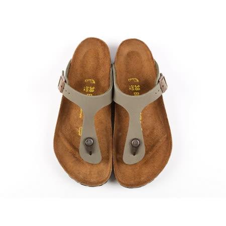 BIRKENSTOCK 043391。GIZEH吉薩 夾腳拖鞋(石頭灰)