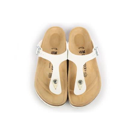 BIRKENSTOCK 043731。GIZEH吉薩 夾腳拖鞋(白)
