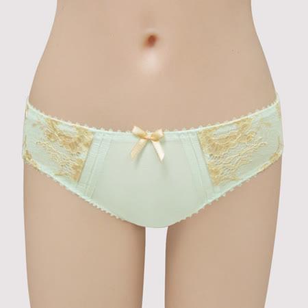【曼黛瑪璉】雙弧水潤白  低腰三角萊克褲(恬靜綠)