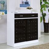 【幸福屋】梅薇思3.5尺白色推門鞋櫃