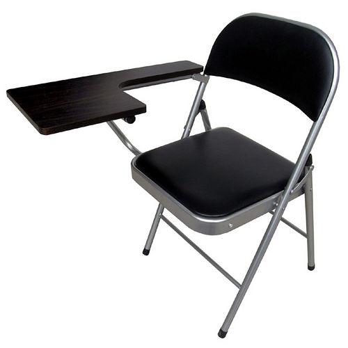 ~環球~ 重型超厚椅座 ~木製桌面~課桌折疊椅子 補教  ~1件組