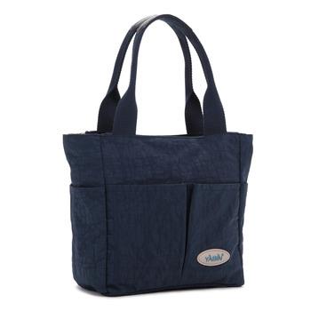 【YABIN】時尚媽媽包設計款小號媽咪包(寶藍色)