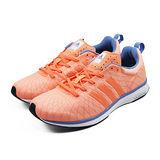(女)ADIDAS ADIZERO FEATHER 4 W 慢跑鞋 橘/藍-M29274