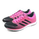 (女)ADIDAS ADIZERO F50 RNR W 慢跑鞋 桃紅/黑-B40414