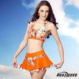 【Heatwave熱浪】 俏麗風彩 萊克三件式泳裝