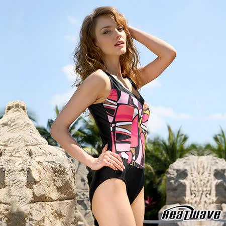 【Heatwave熱浪】勁麗魅力 萊克連身裙泳裝