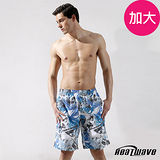Heatwave 加大泳裝 海灘褲-藍洋悠游-A186
