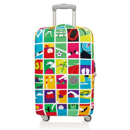 LOQI 行李箱套【S號】│奧運會 LSRTGA