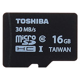 TOSHIBA 16GB microSDHC UHS-I Class10 30MB/s高速手機卡(平輸)