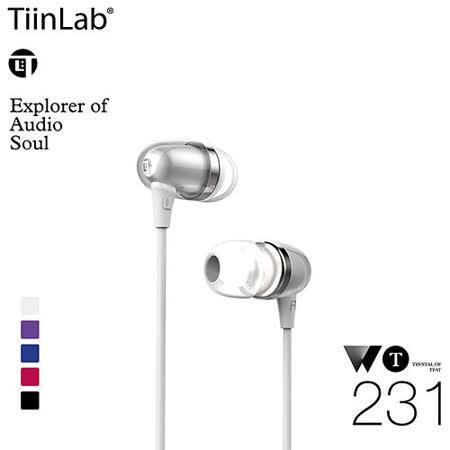 TiinLab Whisper of TFAT WT 耳語系列 入耳式耳機 WT231(白)