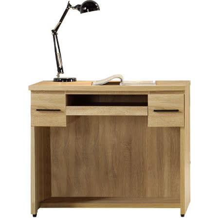 【好物推薦】gohappy線上購物【幸福屋】艾爾達3.2尺橡木紋電腦書桌好嗎愛 買 吉安 高雄