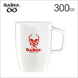 GABEE. 39號馬克杯(紅色)300CC (HG0860GBR)