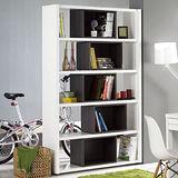 【幸福屋】考納斯3.3X7尺白色雙面活動書櫃