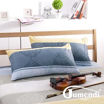 【法國Jumendi-北歐樂活】台灣製活性柔絲絨枕套-2入