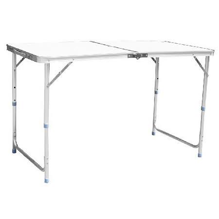 鋁製休閒摺疊桌.