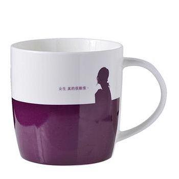 義大利Bialetti 等一個人咖啡電影系列馬克杯 - 紫幻老闆娘