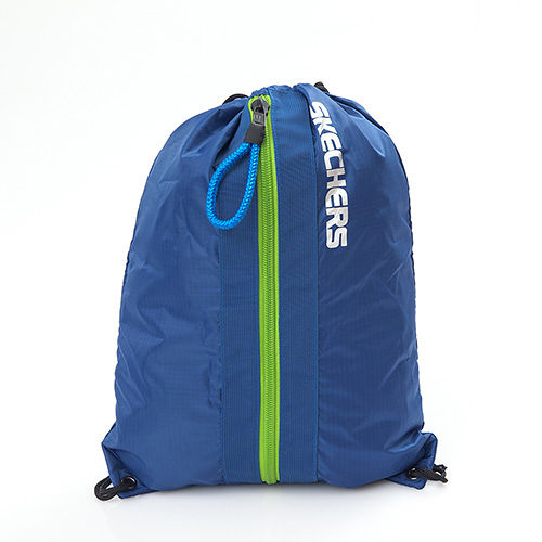 SKECHERS SPEED WALKER CINCH BAG 藍色 束口袋 ~ 7670