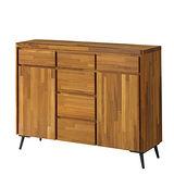【幸福屋】維狄4尺柚木餐櫃/收納櫃