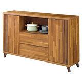 【幸福屋】丹尼5尺柚木餐櫃/收納櫃
