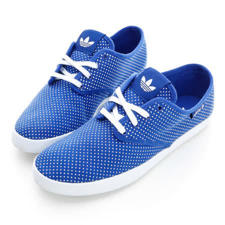 adidas(女)ADRIA PS W -經典復古鞋-藍-M19544
