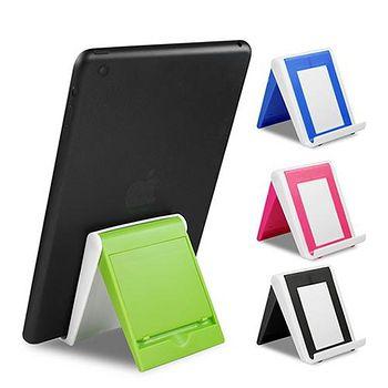 兩用 手機/平板可折疊收納簡易型支架 ..