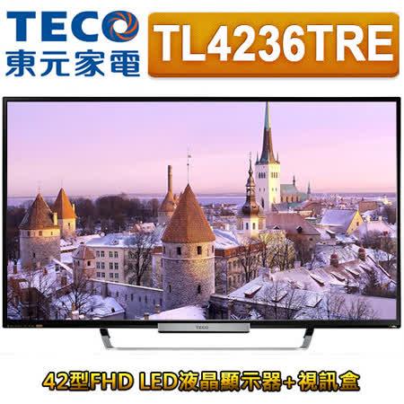 TECO東元 42型FHD LED液晶顯示器+視訊盒(TL4236TRE)