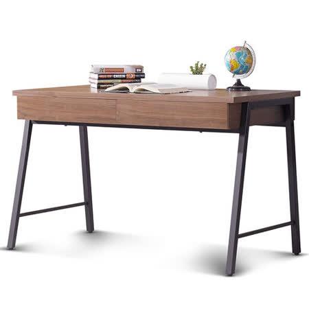 日式量販 現代工業風4尺書桌