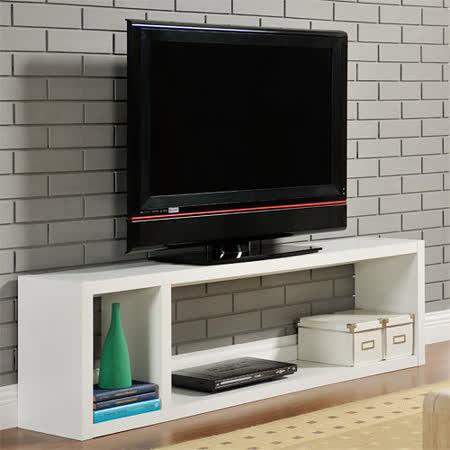 【Yomei】DIY現代感簡約電視櫃/置物櫃/收納櫃(白色)