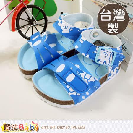 魔法Baby~台灣製迪士尼米奇兒童涼鞋~sh5519