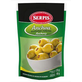 西班牙 Serpis 橄欖鑲鯷魚 170g