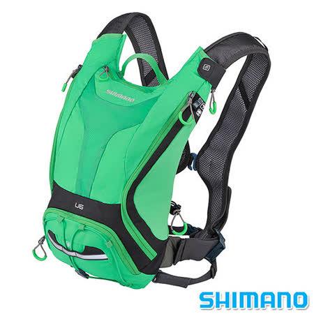 SHIMANO UNZEN 登山車水袋後背包6L 深灰綠