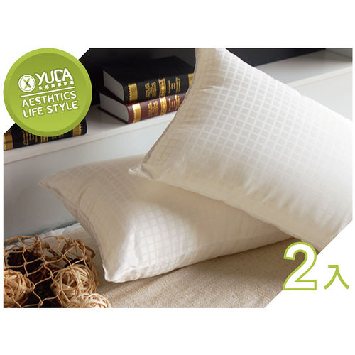 ~YUDA~高枕 奧地利 天絲枕~二入組~含枕套 枕心枕頭 枕人體工學枕