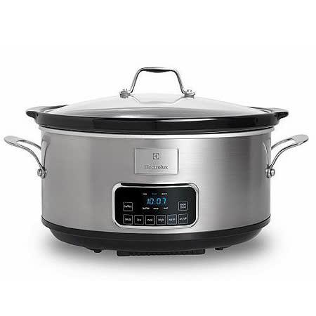 【伊萊克斯 Electrolux】七公升微電腦陶瓷慢燉鍋(ESC6503S)