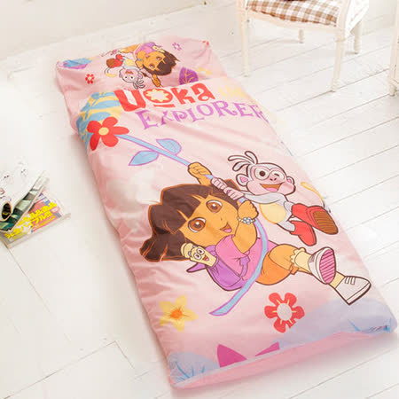 【可愛朵拉】台灣精製兒童睡袋(粉)