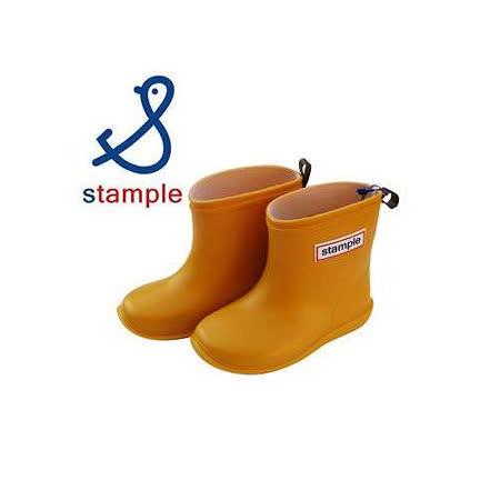 日本製 stample兒童雨鞋-黃色